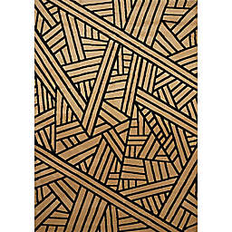 United Weavers Contours Realm Tufted Accent Rug in Beige