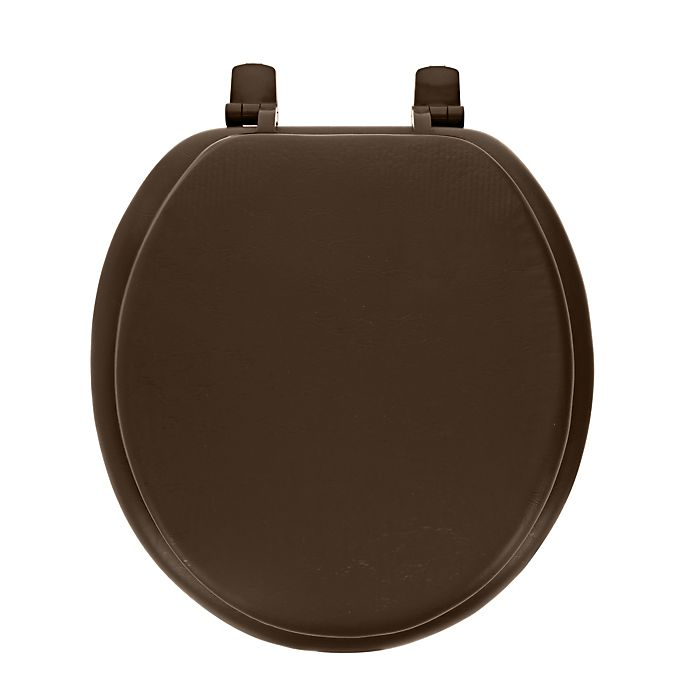 Alternate image 1 for Ginsey Round Soft Toilet Seat
