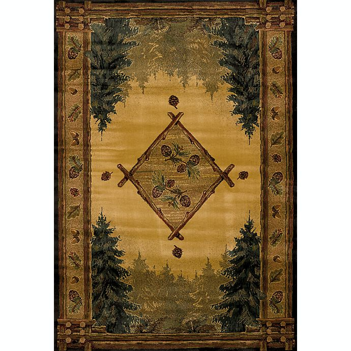 Alternate image 1 for United Weavers Forest Trail Lodge Area Rug