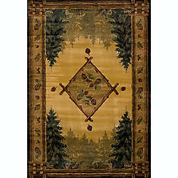 United Weavers Forest Trail Lodge 2-Foot x 3-Foot Area Rug