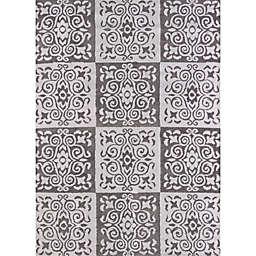 United Weavers Modern Texture Velvet Cube 7-Foot 10-Inch x 10-Foot 6-Inch Indoor/Outdoor Area Rug