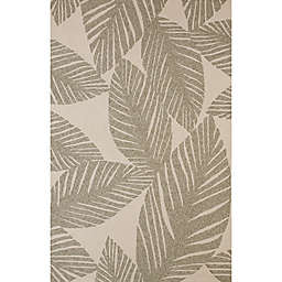 Panama Jack Palm Coast 1'11 x 3' Indoor/Outdoor Accent Rug in Grey