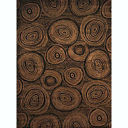 United Weavers Affinity Timber Rug in Dark Brown