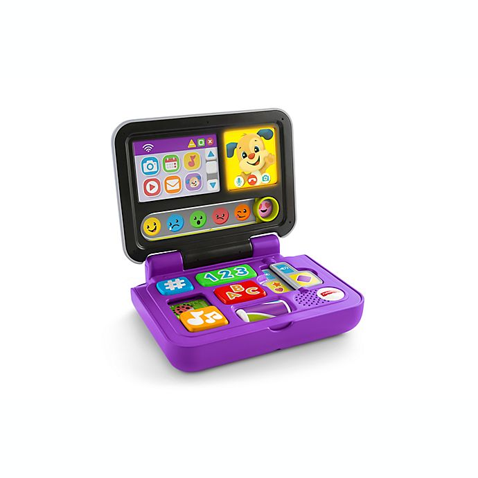 Alternate image 1 for Fisher-Price® Laugh & Learn® Click & Learn Laptop