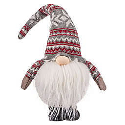 OIC Products 18-Inch Battery-Operated Christmas Gnome in Red
