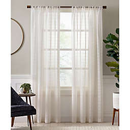 Charlie Sheer Rod Pocket Window Curtain Panel