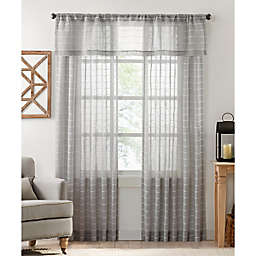 Colordrift Inez Stripe Window Curtain Collection
