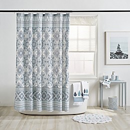 Capri Medallion Shower Curtain Collection