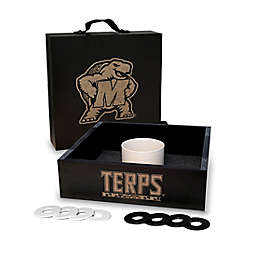 University of Maryland Washer Toss Game Set in Onyx