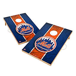 MLB New York Mets Gameday Solid Wood Cornhole Set