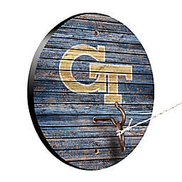 Georgia Tech Weathered Hook & Ring Toss Game