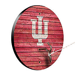 Indiana University Weathered Hook & Ring Toss Game