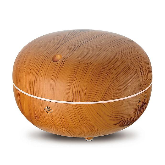 Alternate image 1 for Serene House® Macaron Light Wood Ultrasonic Diffuser