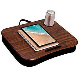 LapGear® Cup Holder Lap Desk in Espresso Woodgrain