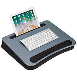 LapGear® Smart-e Pro Lap Desk with Memory Foam in Silver