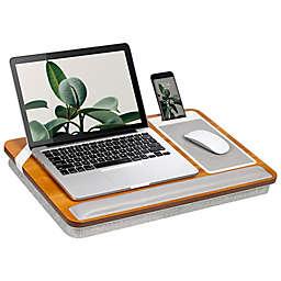 Rossie Home Premium Acacia Lap Desk in Golden Saddle