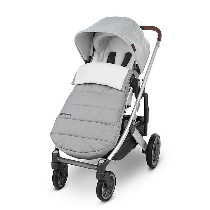 Alternate image 1 for UPPAbaby® CozyGanoosh Stroller Footmuff in Stella Grey