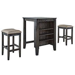 Progressive Furniture Tapas 3-Piece Dining Set