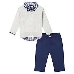 Beetle & Thread® Size 18-24M 4-Piece Rocket Sweater, Shirt, Pant, and Bow Tie Set in Grey