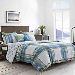 Boston Traders® Charlie 5-Piece Full/Queen Comforter Set in Blue/Multi