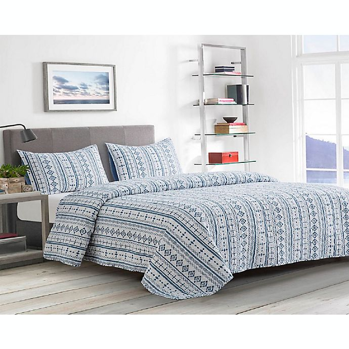 Alternate image 1 for Boston Traders® Helena 3-Piece Reversible Quilt Set