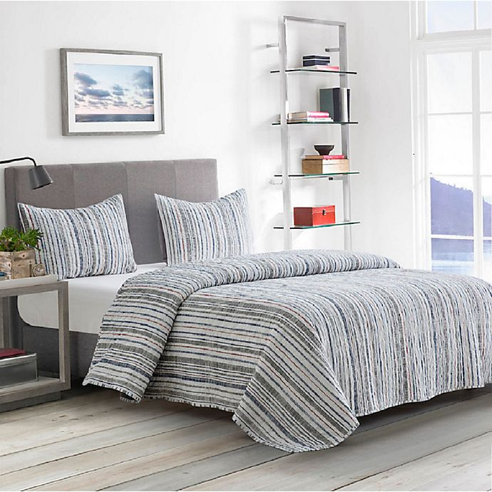 Alternate image 1 for Boston Traders® Pearson 3-Piece Reversible Quilt Set