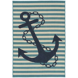Amalie Anchor Indoor/Outdoor Rug