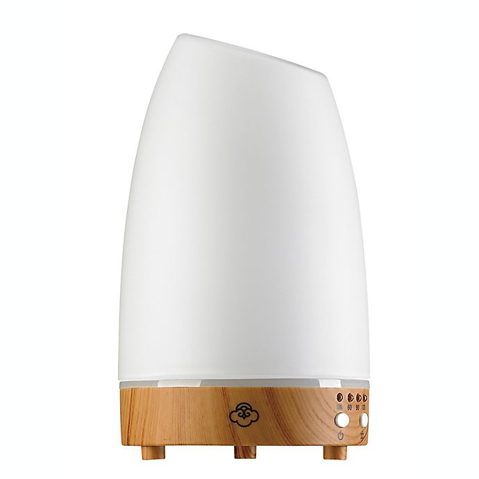 Alternate image 1 for Serene House® Astro 90 Glass Ultrasonic Diffuser in White