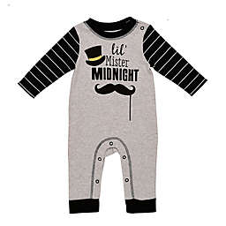 Baby Starters® Mr. Midnight Coverall in Grey