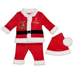 Baby Starters® 3-Piece Rudolph Santa Suit in Red