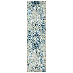 Mohawk Home® Prismatic Juniper 2' x 8' Runner in Blue Multi