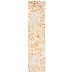 Mohawk Home® Prismatic Juniper 2'6 x 10' Runner in Orange/Ivory