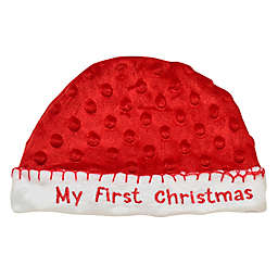 "Baby Starters® Size 0-12M ""My First Christmas"" Cap in Red"