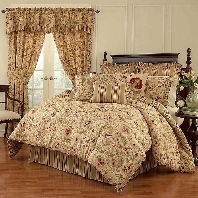 Alternate image 1 for Waverly® Imperial Dress Reversible Comforter Set in Antique