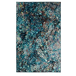 Mohawk® Home Prismatic Layered Marble Multicolor Rug in Water