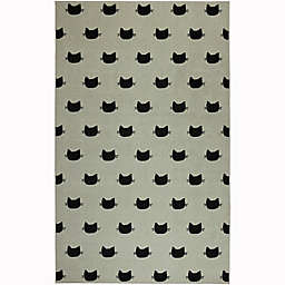"Mohawk Home® 3'4"" x 5' Prismatic Kitty Cat Area Rug in Cream"