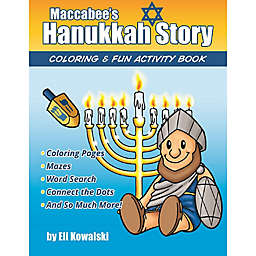 Maccabee's Hanukkah Story Coloring and Fun Activity Book