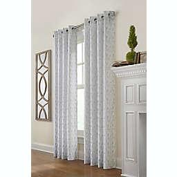 Commonwealth Home Fashions Arcadia Grommet Window Curtain Panel