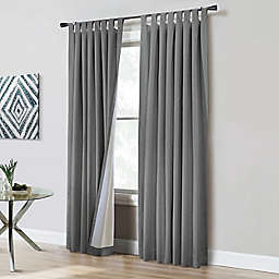 Commonwealth Home Fashions ThermaPlus Ventura 2-Pack Window Curtain Panels