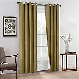 Commonwealth Home Fashions ThermaPlus Ventura Grommet Window Curtain Panels (Set of 2)