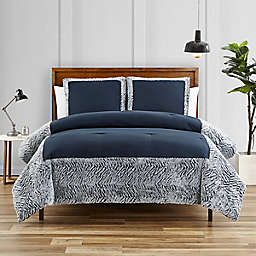 Elsa 3-Piece King Comforter Set in Indigo