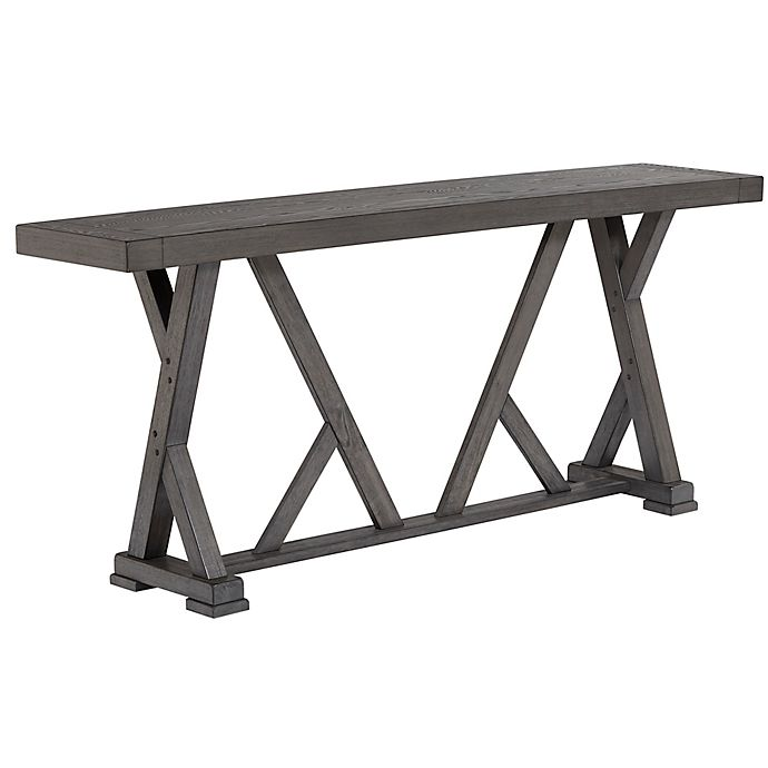 Alternate image 1 for Progressive Furniture Fiji Harbor Counter Table in Grey
