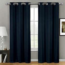 Empire 2-Pack 84-Inch Grommet Window Curtain Panels in Indigo