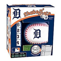 MLB Detroit Tigers Shake N' Score Dice Game