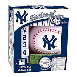 MLB New York Yankees Shake N' Score Dice Game
