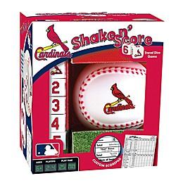 MLB St. Louis Cardinals Shake N' Score Dice Game