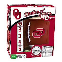 University of Oklahoma Football Shake N' Score Dice Game