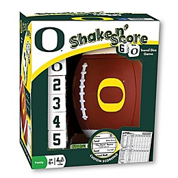 University of Oregon Football Shake N' Score Dice Game