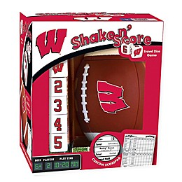 University of Wisconsin Football Shake N' Score Dice Game