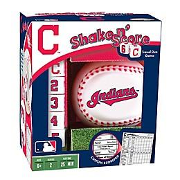 MLB Cleveland Indians Shake N' Score Dice Game